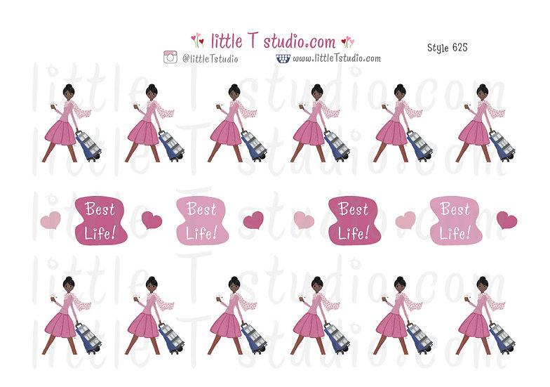 Cart Witnessing Girl - Style 625