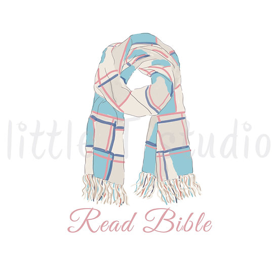 Read Bible Reminder Stickers - Warm Winter Scarf - Style 1136 or 328M