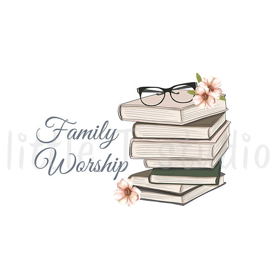 Cozy Home Family Worship Stickers - Style 1115 or 307M