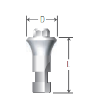 Octa Abutment Analog UFII Regular,Wide