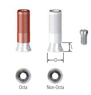 Gold Cylinder Length 4 UFII Regular,Wide