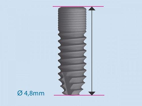 ICX implantat blå, Ø 4,8 mm
