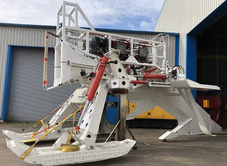 Telecoms Plough System Delivered from Pharos Offshore Group!