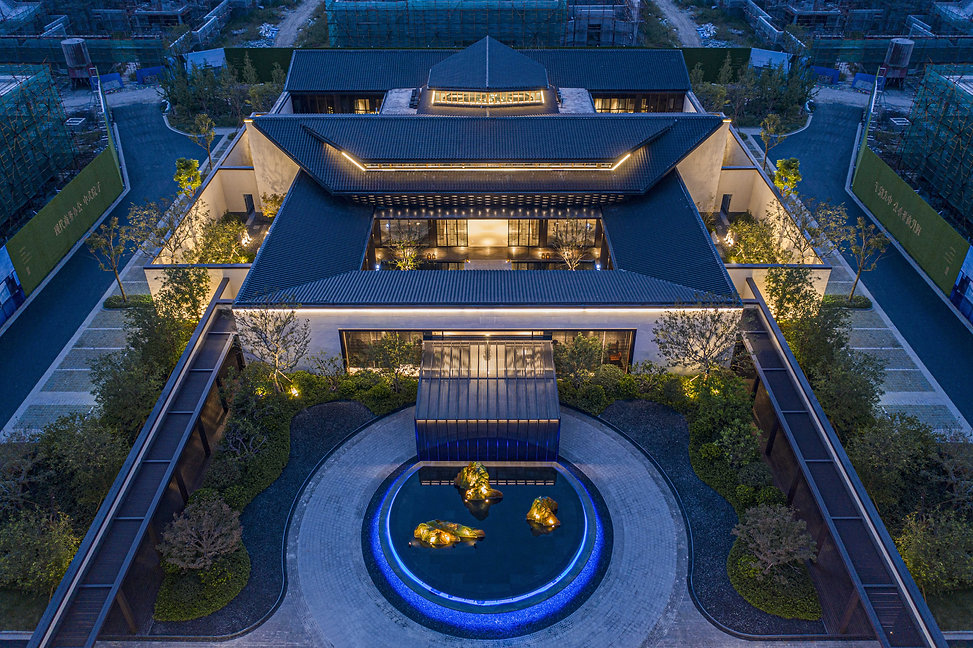 Ru Garden • Enterprise Mansion of Science and Technology City, Nantong