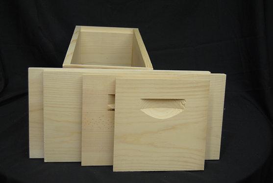 5 FRAME NUC BOX UNASSEMBLED