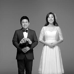 studio semi-wedding