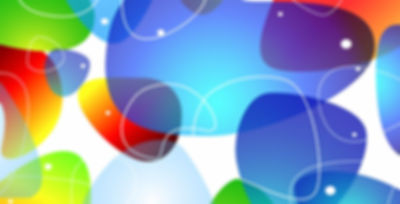 Abstract Colorful Glossy Vector Backgrou