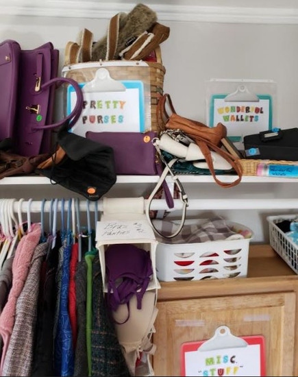 Pretty Purses, Wallets, Clothes and Misc stuff.