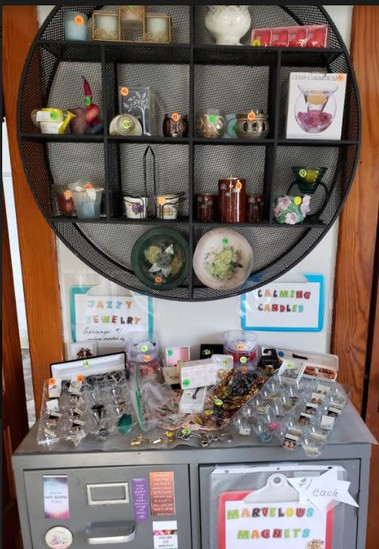 Magnets, Jassy Jewelry and other things.