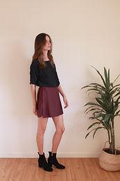 Mia top + Maria mini skirt