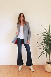 Gigi blazer dusty blue
