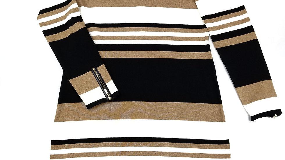 INC stripped sweater dress size XL