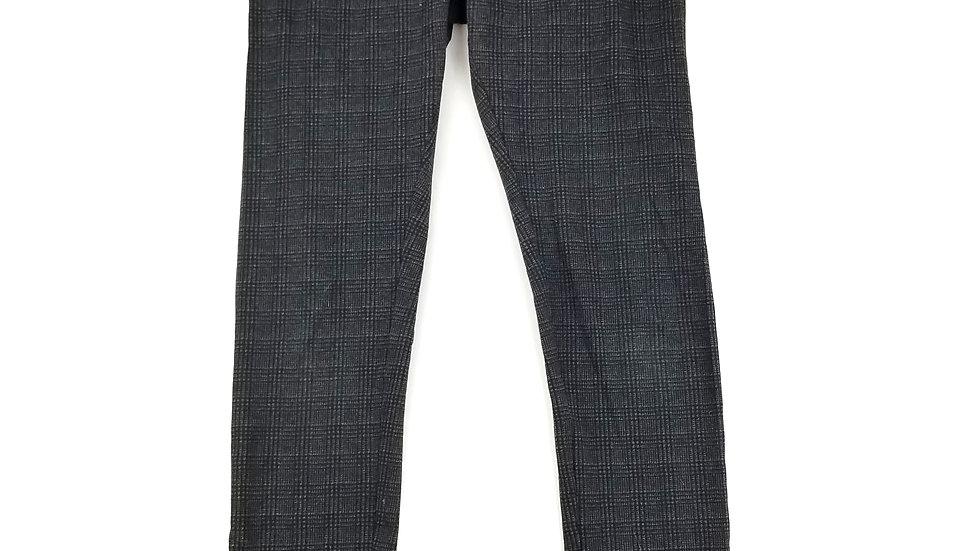 Nicole Miller grey/black check legging size small