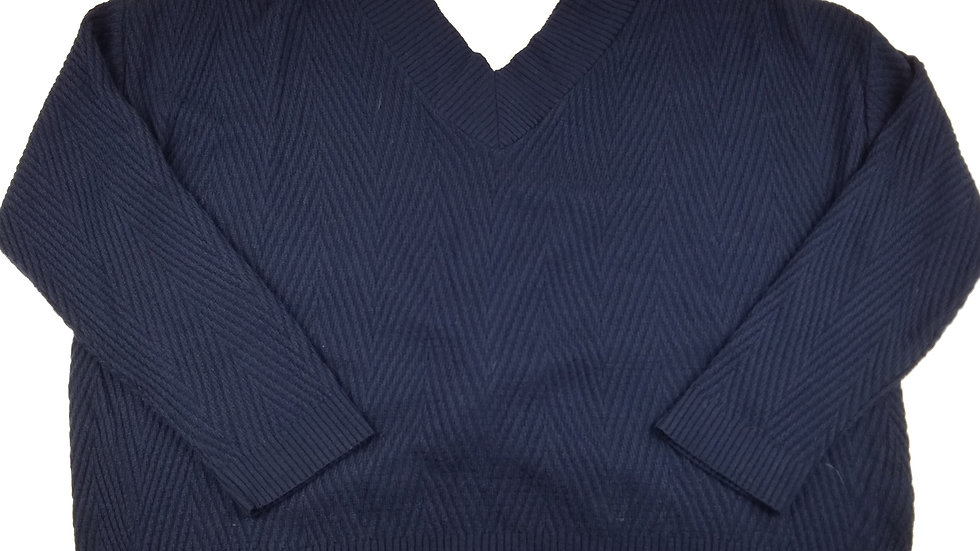 Maurices navy sweater size large