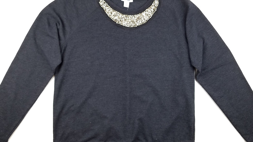 Old Navy grey sweatshirt with bling size large