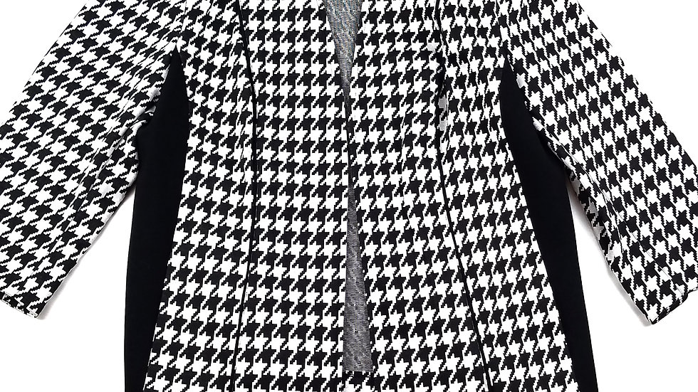 TanJay houndstooth jacket size 6p