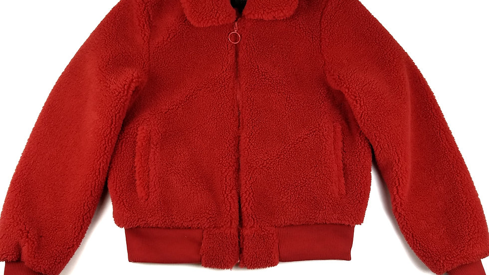 CI Sono red fleece jacket size large
