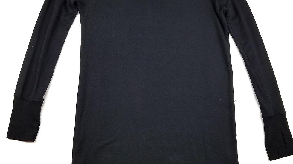 Athleta black athletic lounge dress size medium