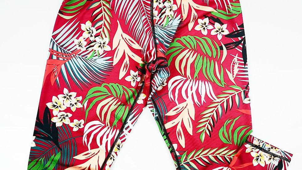 Mink Pink tropical leggings size Med