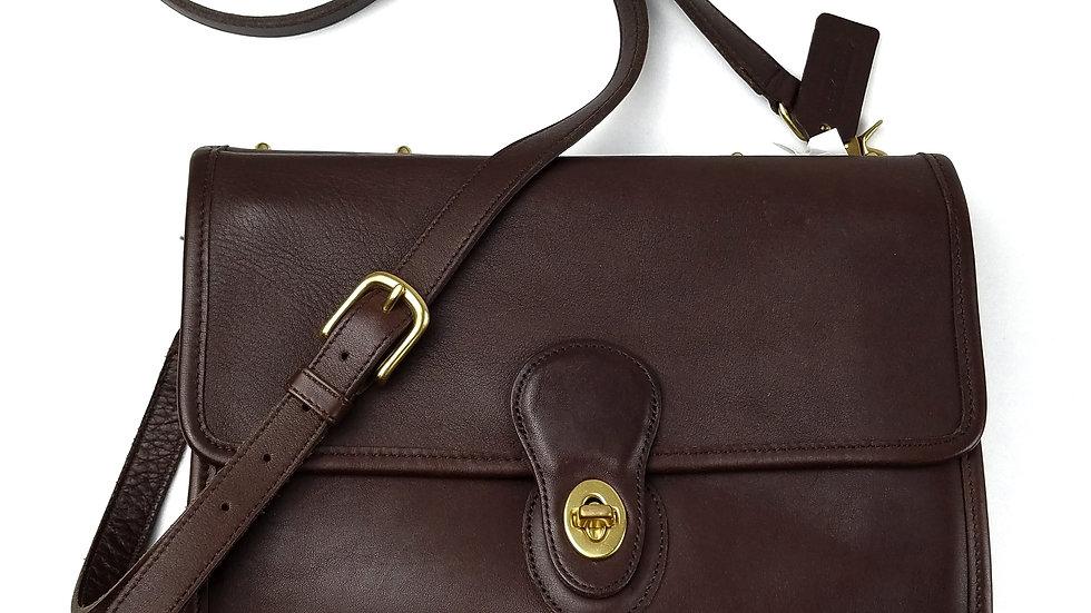 Coach brown vintage Willis handbag