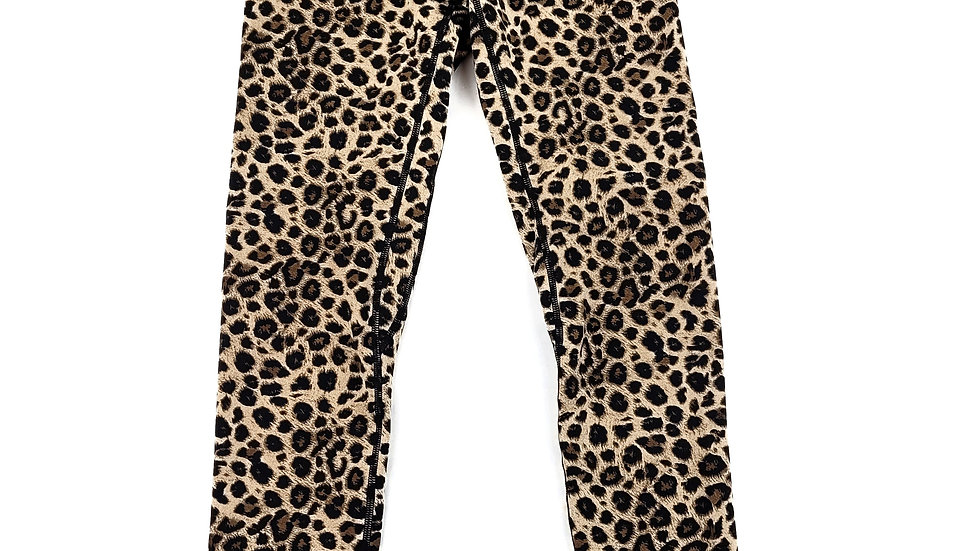 Colorfulkoala animal print leggings size small
