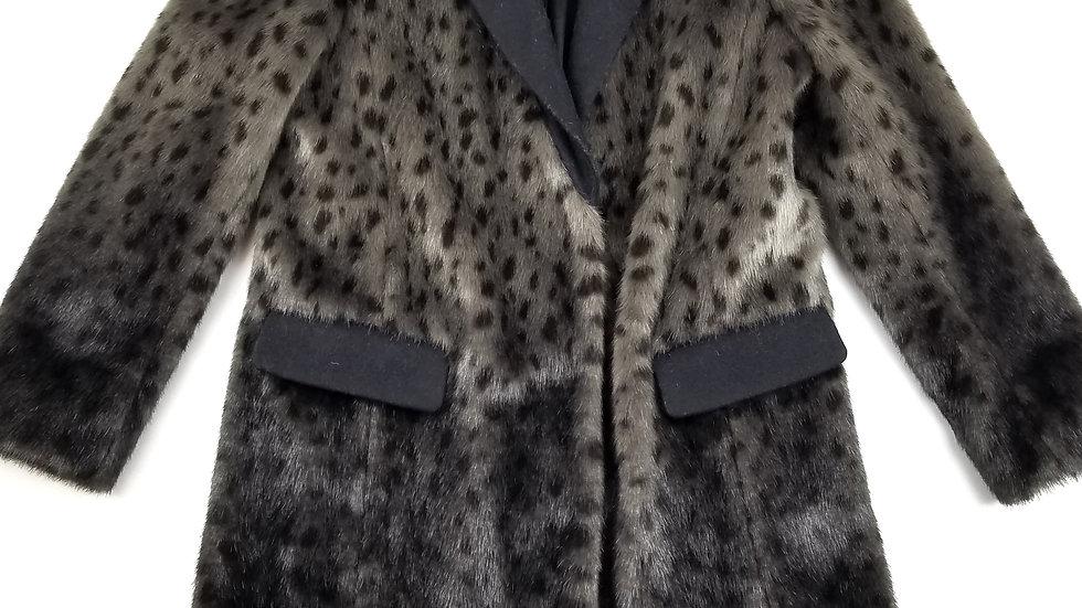 Juicy Coutour ombre faux fur jacket size medium