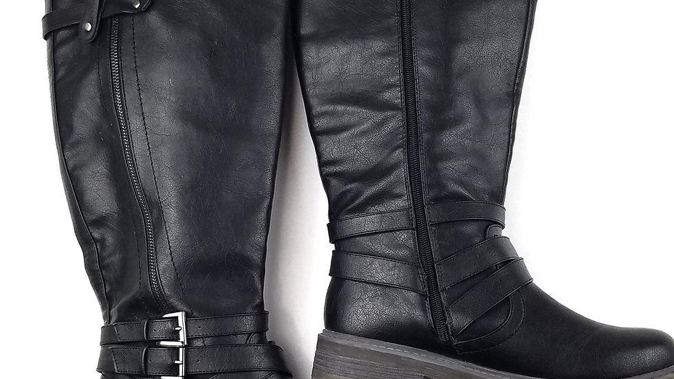 Tender Tootsies black boots size 9