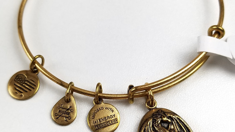 Alex and Ani dragon bracelet