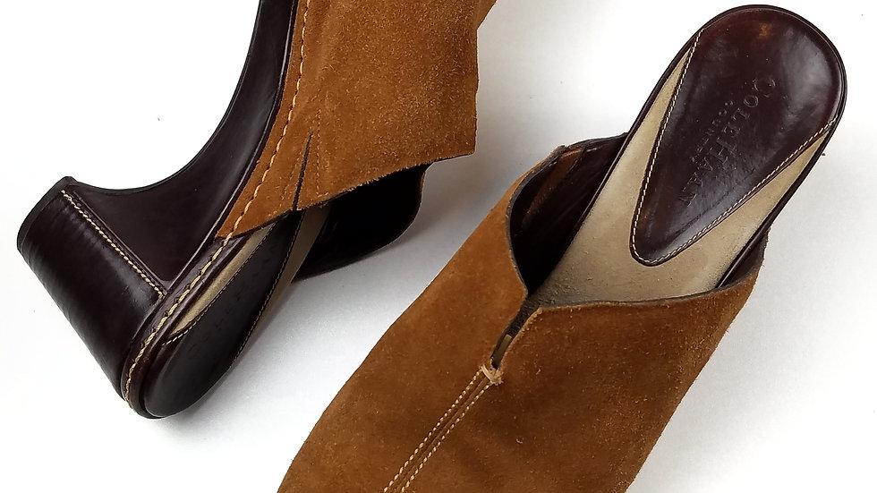 Cole Haan brown mule size 9