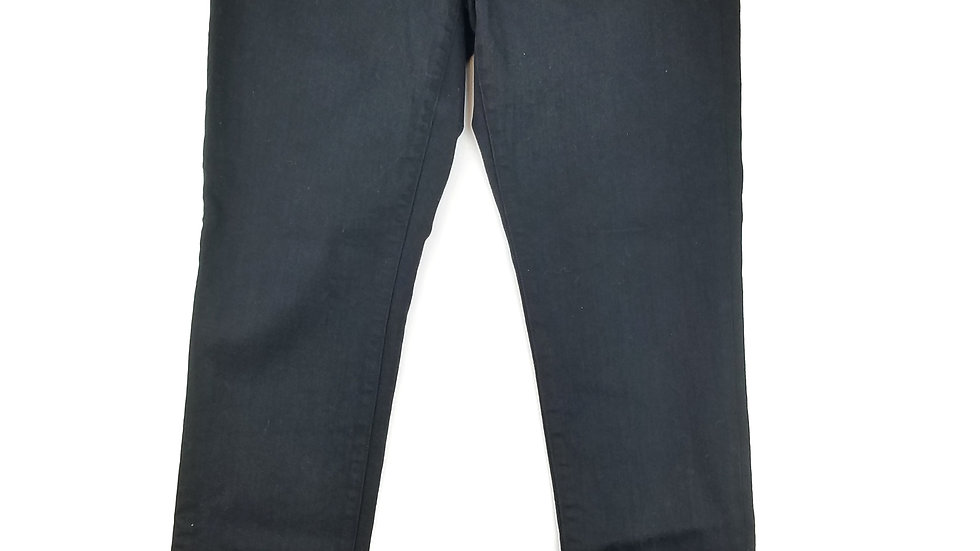 Ralph Lauren black pull on jean size 8