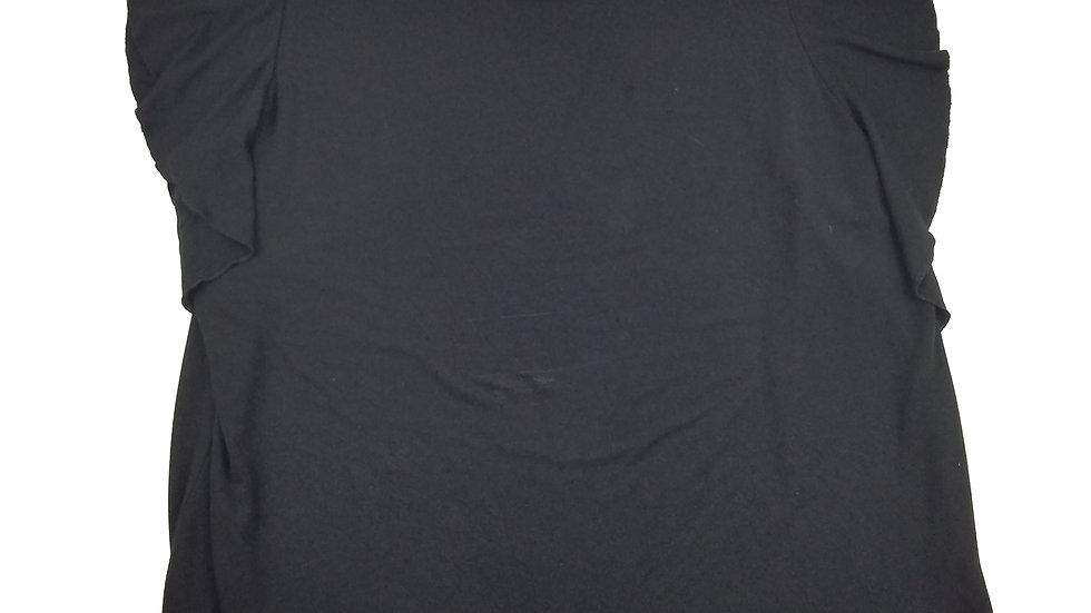 Lord & Taylor black short sleeve top size 2Xlarge