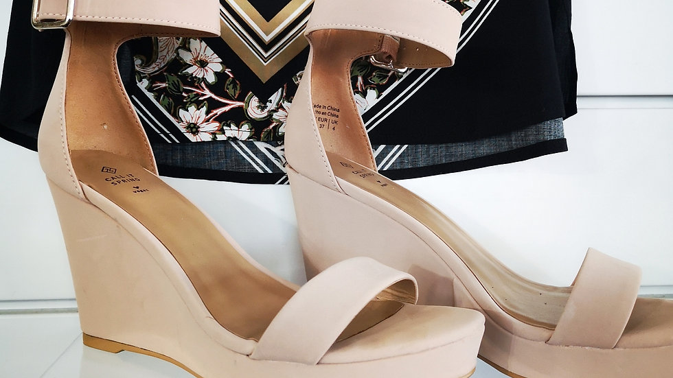 Call it Spring wedge ankle strap size 6.5