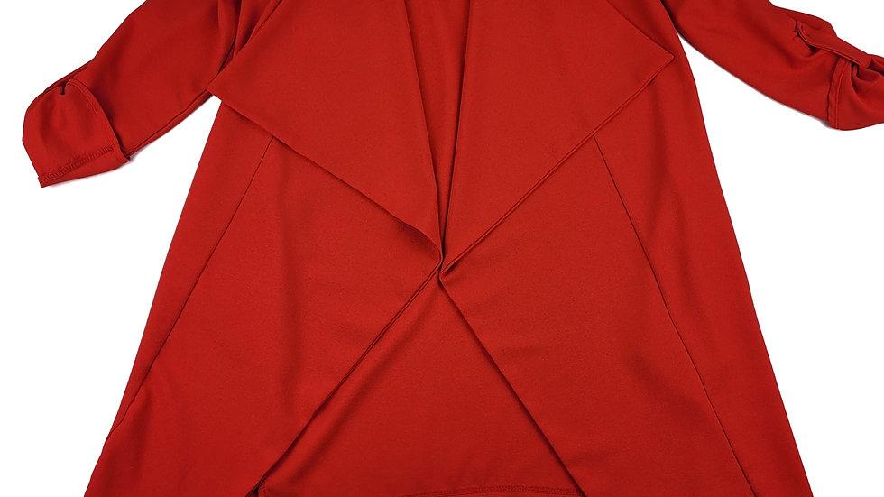 Revamped red/orange cardi size xs/sm