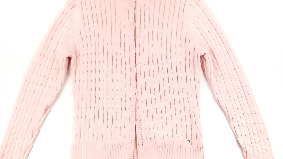 Tommy Hilfiger pink cardigan (new) size XL