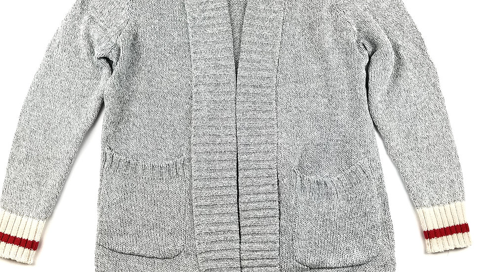 Head North long grey cardigan size OS