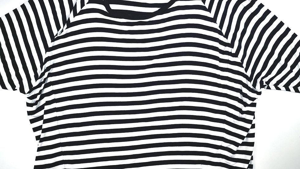 Michael Kors b/w striped top 3X