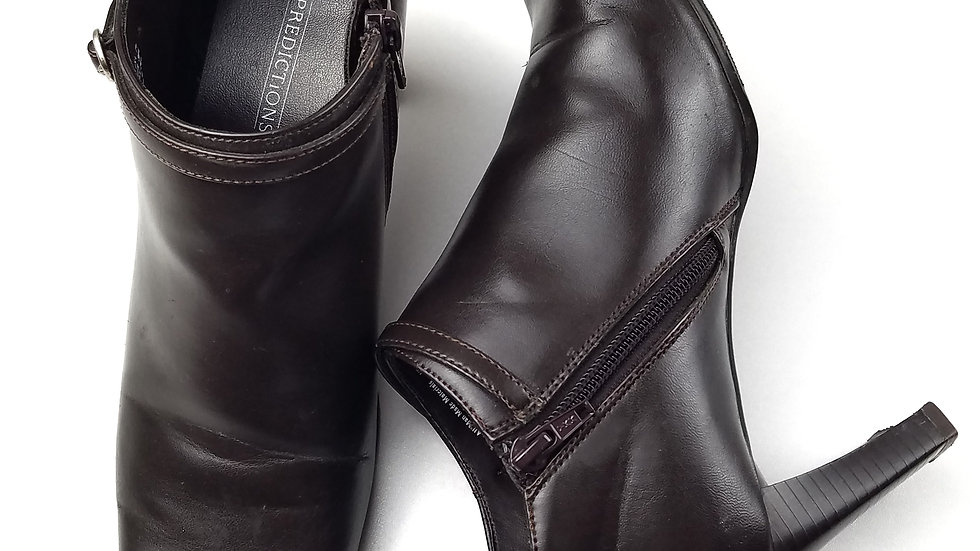Predictions brown ankle boot size 7.5
