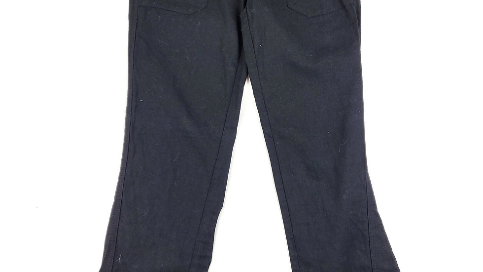 Roxy black linen pants size xsmall