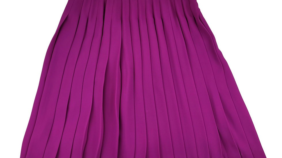 Liz Claiborne fuschia pleated skirt size 12
