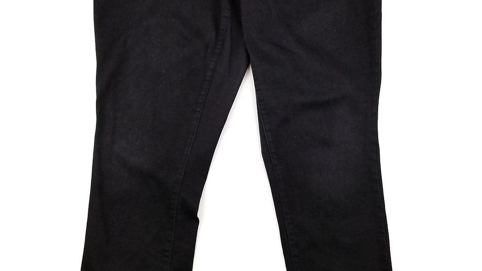 Maurices black skinny jeans size 20