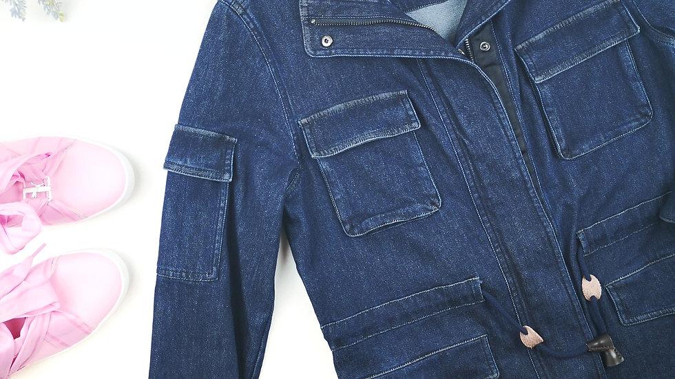 NVLT denim jacket size small