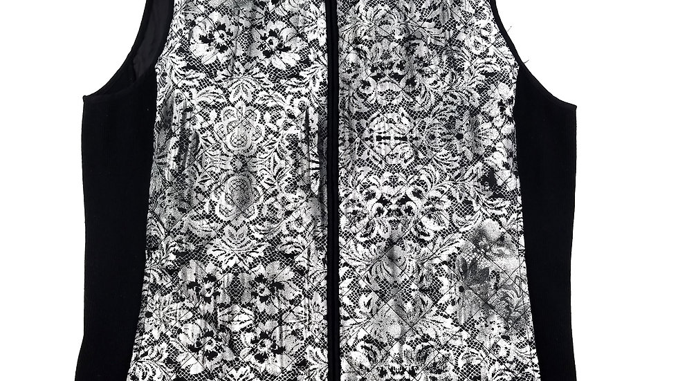 Northern Reflections black/grey vest size large