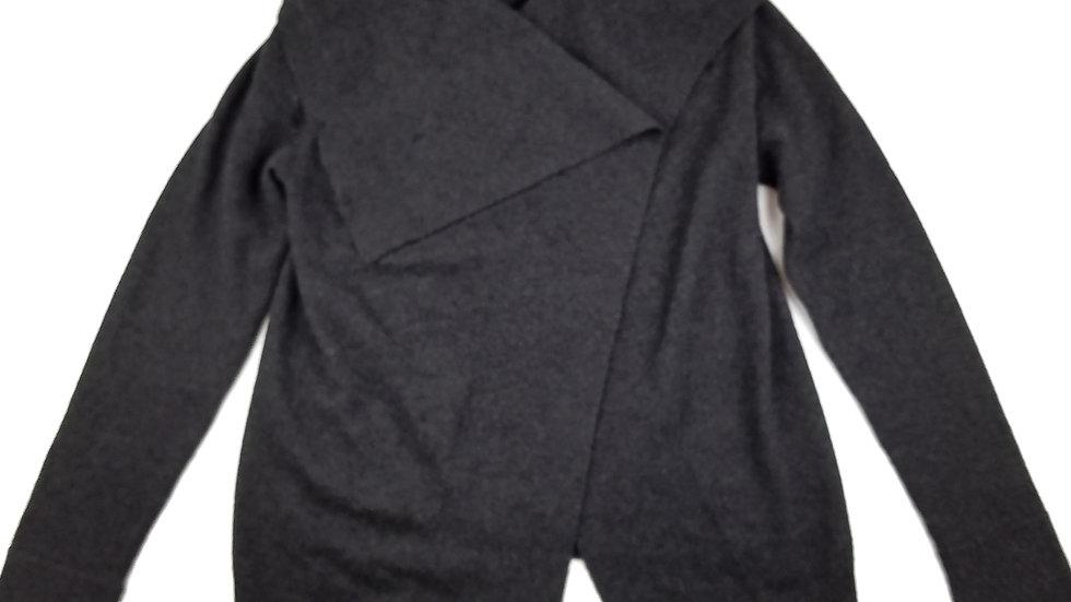 Jones New York grey cashmere cardigan size medium
