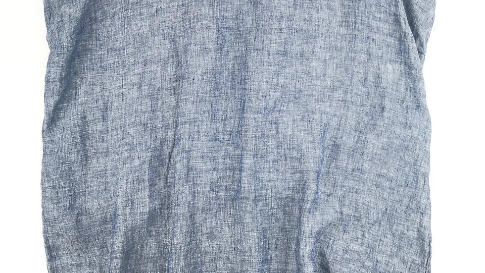 Tahari blue linen dress size 2X