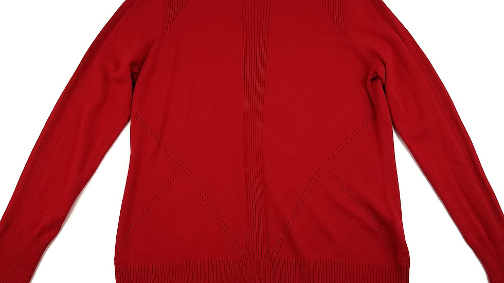 Tribal red sweater size large