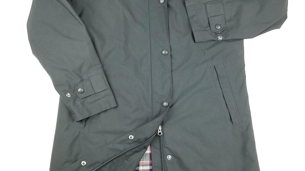 L.L. Bean Black full length raincoat size small