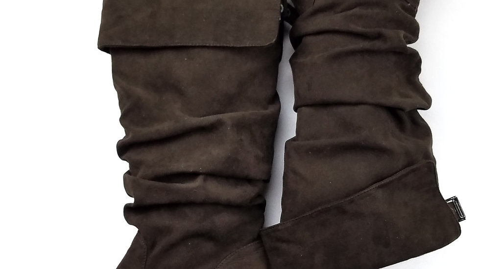 Jules & James brown suede boots size 6