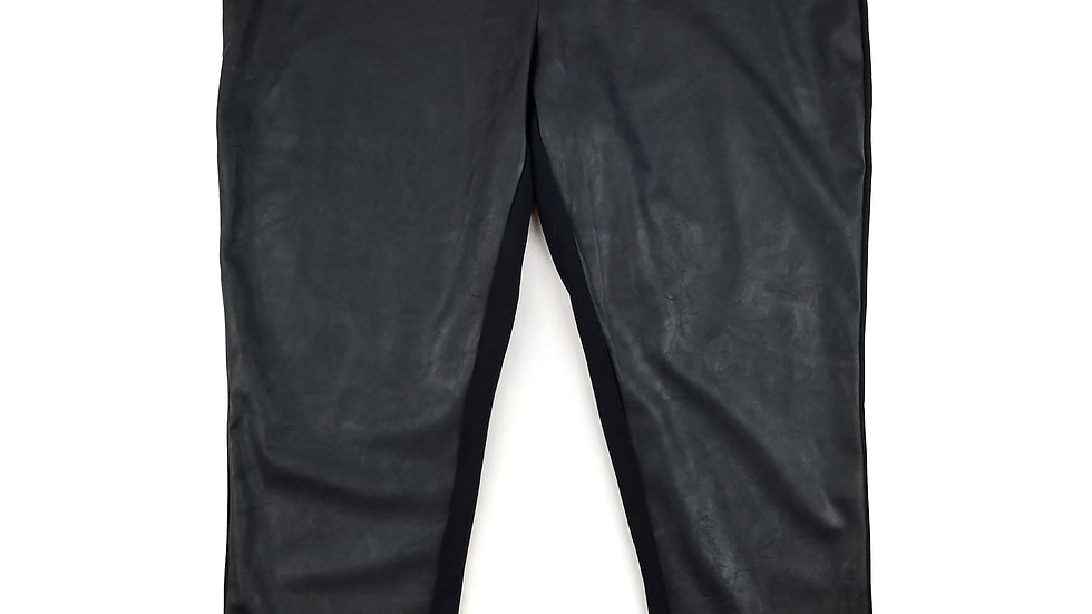Just Fab faux leather legging size 3XL