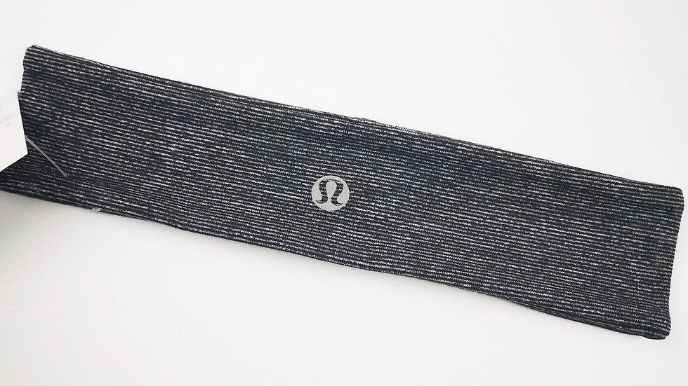 Lululemon headband grey/blk