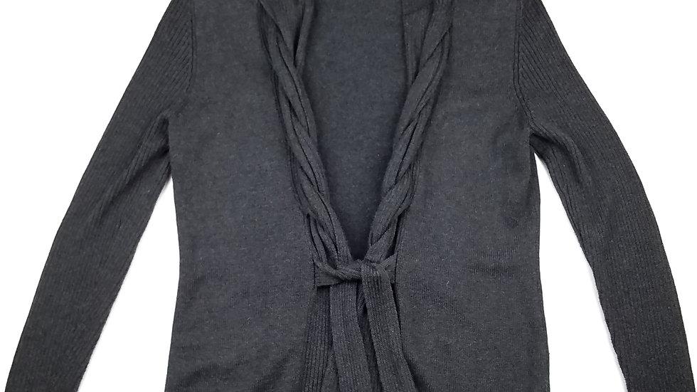 Tommy Hilfiger grey knit cardigan size medium